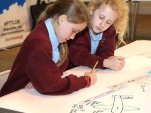 students-designing